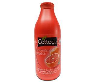 Снимка от Душ гел, пяна за вана и течен сапун 3 в 1 с червен грейпфрут - Cottage