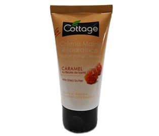 Снимка от Възстановяващ крем за ръце с аромат на карамел - Cottage