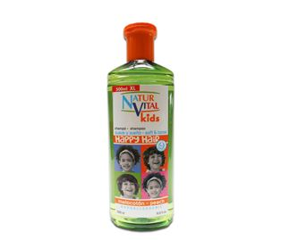 Снимка от Хипоалергичен шампоан за деца с Праскова  Happy Hair Kids - Natur Vital