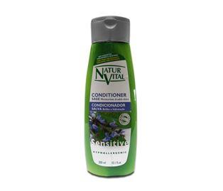 Снимка от Омекотяващ балсам за коса с градински чай - Natur Vital