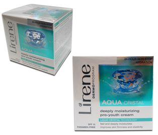 Снимка от Дневен крем за лице, дълбоко хидратиращ със SPF 10, Aqua - Lirene