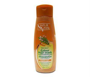 Снимка от Оцветяваща маска за коса с къна за Руса коса - Natur Vital