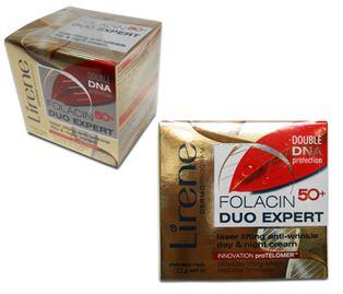 Снимка от Крем за лице против бръчки с лифтинг ефект Folacin advance 50+ - Lirene