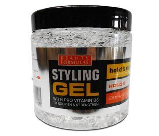 Снимка от Гел за коса за блясък със силна фиксация Hold Shine - Beauty Formulas