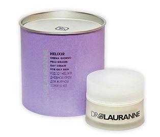 Снимка от Дневен крем за лице с екстракт от охлюви за мазна кожа - Helixir
