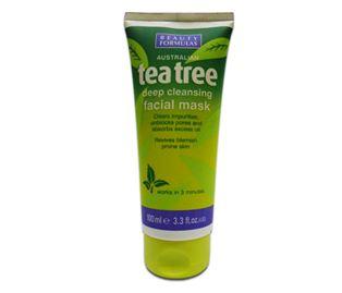 Снимка от Стягаща и почистваща маска за лице с чаено дърво - Beauty Formulas