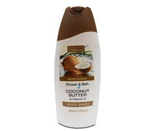 Снимка от Хидратиращ и омекотяващ душ гел за тяло с аромат на кокос - Beauty Formulas