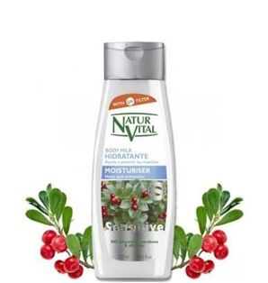 Снимка от Хидратиращо мляко за тяло с Мечо грозде - Natur Vital